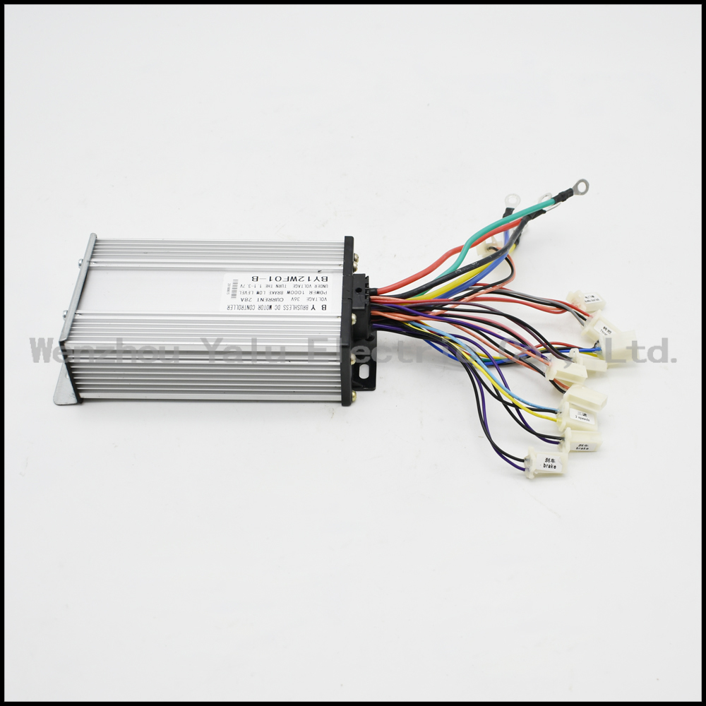 DC 48 volts 1000 Watt  12/15Power tube electric bicycle and scooter electric bicycle brushless engine controller