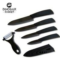 Kitchen Ceramic Knife Set 3 4 5 6 Inch Peeler Black Blade Paring Fruit And Vegetable
