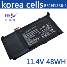 11.4V 48WH New Battery B31N1336 For Asus VivoBook S551 R553L R553LN S551LN-1A Series High Quality