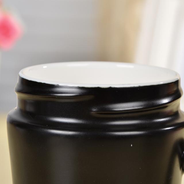 Marvel The Avengers Super Heroes Glaze Ceramic Milk Mug with Lid