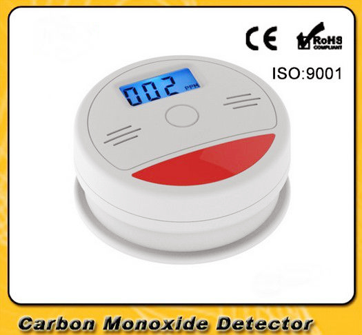 SmartYIBA CO Detector for Home 10 Pieces Carbon Monoxide Detector Smart House Gas Alarm CO Detecctor RED LED Indication Alarm-in Carbon Monoxide Detectors from Security & Protection    1