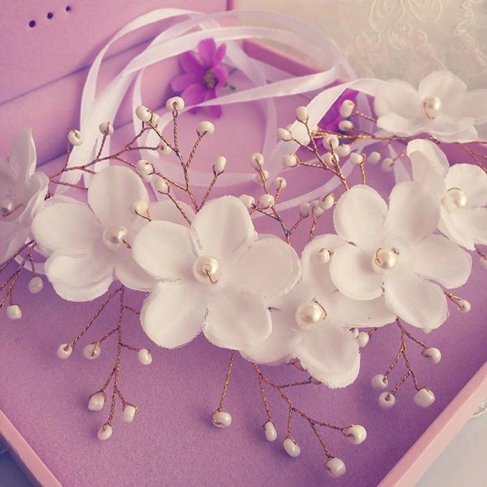 HTB1qvjCJpXXXXa0XVXXq6xXFXXXZ - Новое поступление цветочная жемчужная гирлянда для невесты свадебная цветочная корона повязка на волосы бесплатная доставка SL