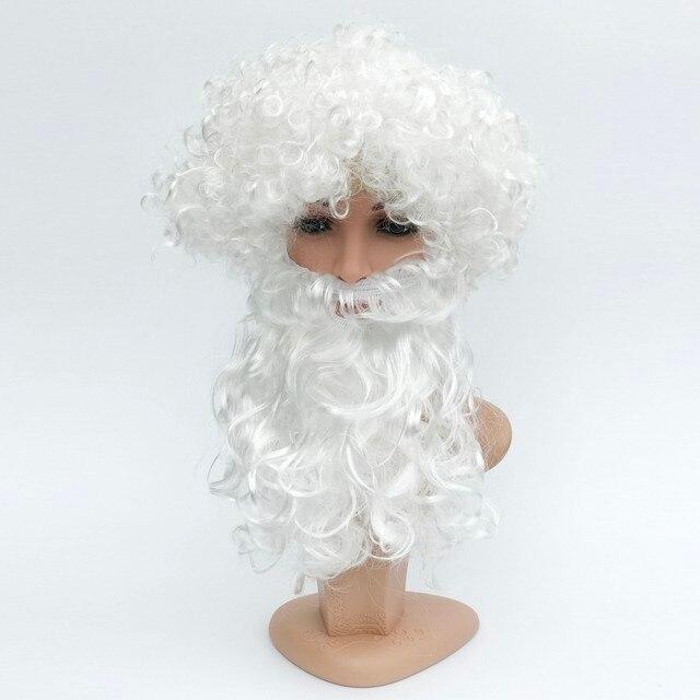 Online Shop Cheap Christmas Gift Santa Claus Wigs and Beard ...