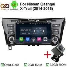 HD 1024X600 Octa Core Android 6.0.1 Car DVD Player For Nissan X Trail X-Trail Qashqai 2012 2013 2014 2015 Radio GPS Navigation