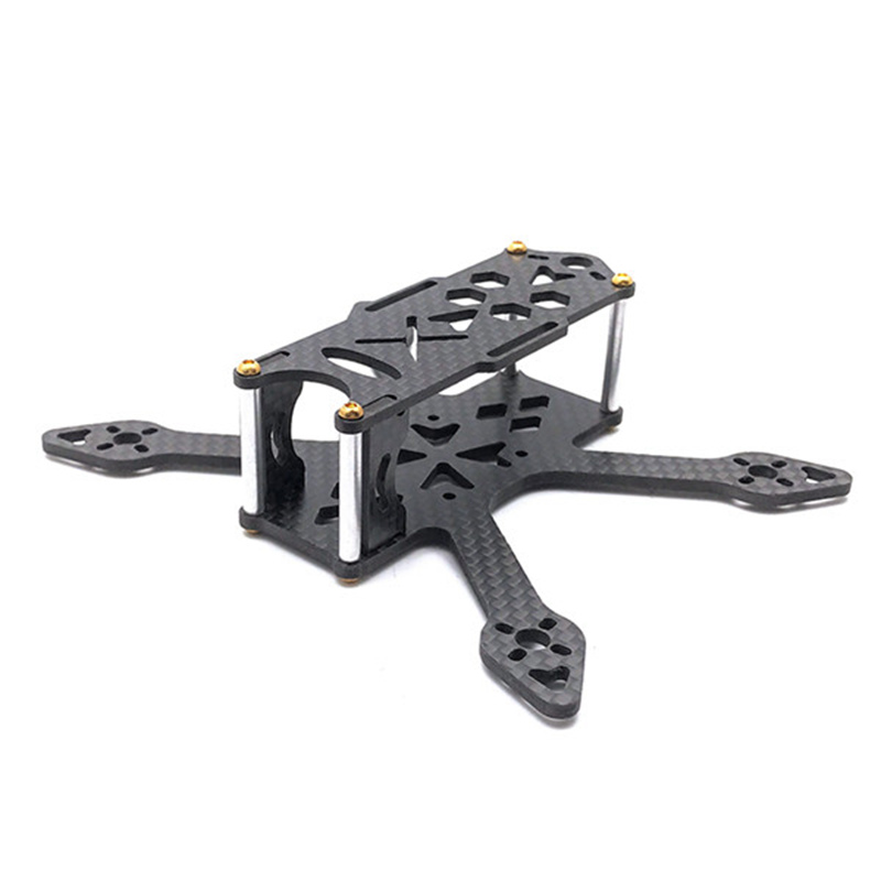 GP110 110mm 2.5mm Bottom Plate 3K Carbon Fiber Racing Frame Kit for RC Drone Runcam Micro Swift Camera DIY FPV Racing Drone Part цена