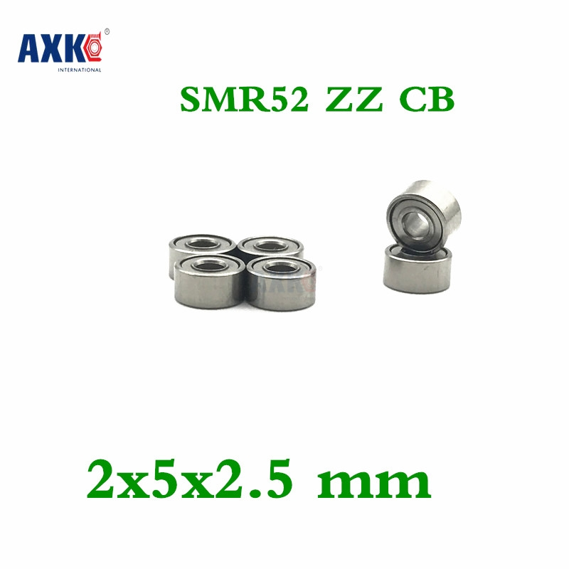 Free Shipping Smr52 Zz Cb Abec7 2x5x2.5 Mm Stainless Steel Hybrid Ceramic Ball Bearing 2mm Smr52-2z Fishing Bearing 2*5*2.5mm stainless steel hybrid ceramic ball bearing smr84 2rs cb abec7 4x8x3mm