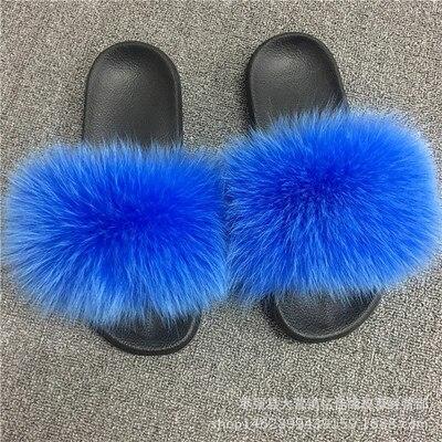 fox hair blue