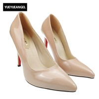 Brand Shoes Woman High Heels Pumps Red High Heels 12CM Women Shoes High Heels Wedding Shoes