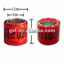 Кольцо для голубиных гонок 8 мм