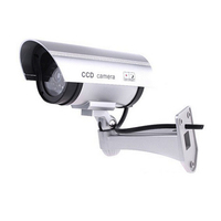 Dummy Camera AA Battery For Outdoor Indoor Surveillance Security Fake Camera Bullet CCTV Camera Home Security