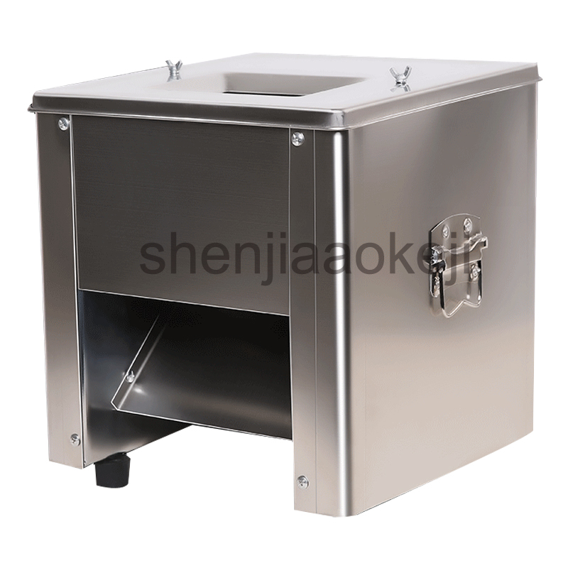 Stainless Steel electric meat slicer meat cutting machine 150kg/h meat grinder vegetables meat slicing machine 1pc 35l meat salting marinated machine chinese salter machine hamburger shop fast pickling machine with timer