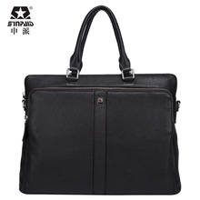 SINPAID New Ritzy For Macbook 15.6 inch for 14 inch Notebook Business Laptop bag Leather handbag Scratch resistant free shipping