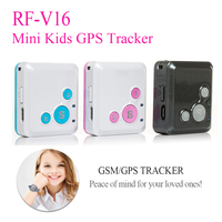 5pcs a lot Mini Kids GPS Tracker GPS Locator Watch RF V16 Real Time Tracking 7 Days Standby SOS Voice Monitor Free APP