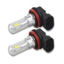 цена на 2x H8 H11 6000K 80W High Power LED Fog Driving Light Lamp Bulb White DC12-24V 360 Degree