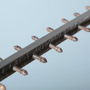 Image 5 - レッドウッドブラシホルダーの伝統的な中国ぶら下げ書道ペンホルダー 12/14/16 フックチキンウイング木材ペンスタンドぶら下げ