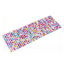 Retail 750Pcs/set 3mm Diy Decal Mobile/PC Art Bling Rhinestone Self Adhesive Scrapbooking Stickers Wall Sticker Car Sticker