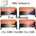 [Hisaint] 4pk kcym clt-k407s toner set cartucho para samsung clx-3180 clx-3185 clx3186 [região quente rússia eua]