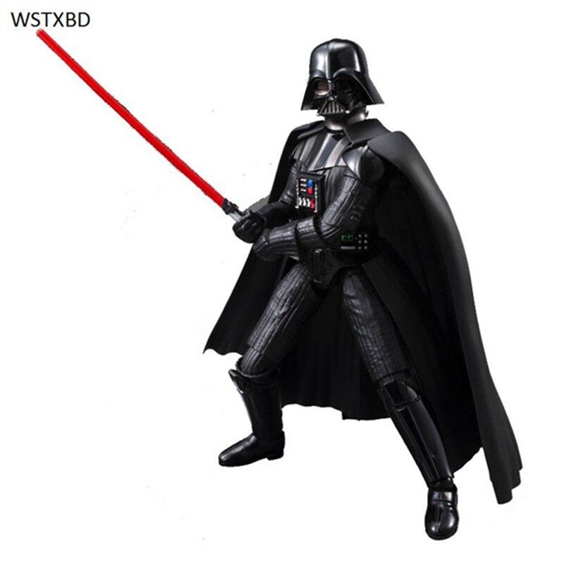 WSTXBD Original Star Wars Figure-Rise 1/12 Scale Darth Vader PVC Figure Model Dolls Toys Figurals star wars pixar cars mater as darth vader 1 55 scale die cast theme park exclusive limited edition swfg047