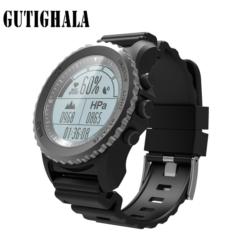 Gutighala S68 GPS Smart Watch IP68 Waterproof Smartwatch Heart Rate Monitor Temperature Sport Men Swimming Running Sport Watch