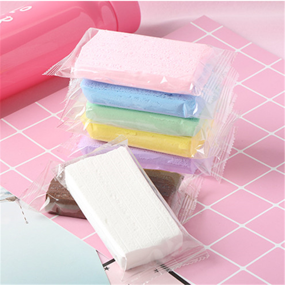 2019 Super Light Paper Polymer Clay Soil Slime Supplies Soft Slime Toys Simulation Cake Anti-stress Sludge Filler Slime For Kids
