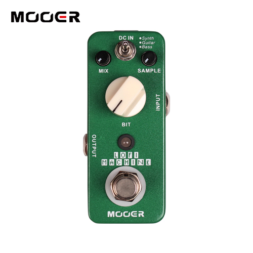 MOOER Lofi Machine Sample Reducing Pedal/Full metal shell True bypass Guitar effect pedal new effect guitar pedal mooer blue faze pedal full metal shell true bypass