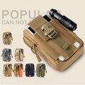 Impermeable ciclismo táctico militar de camuflaje bolsa cinturón riñonera bolsa de teléfono para iphone 7 plus para para samsung galaxy huawei