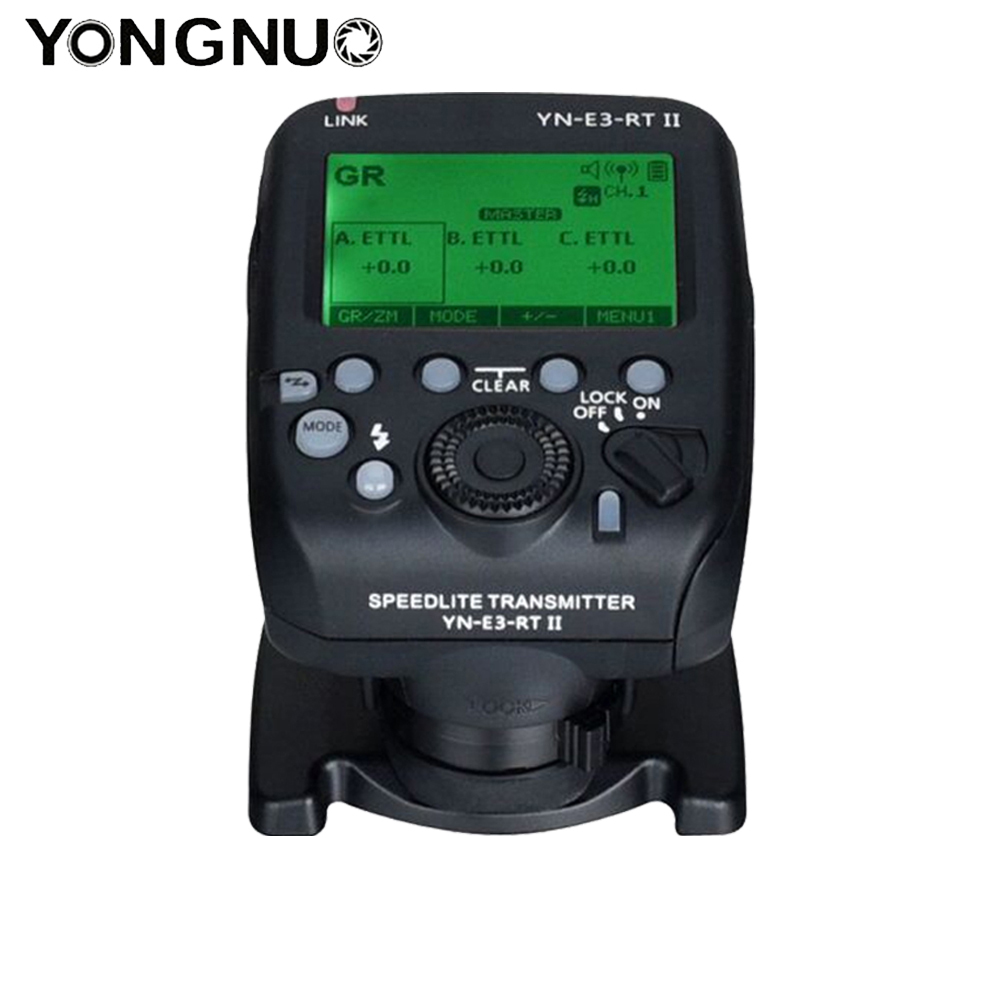 <font><b>YONGNUO</b></font> R3RT <font><b>YN</b></font>-E3-<font><b>RT</b></font> II TTL Radio Trigger <font><b>Speedlite</b></font> Transmitter as ST-E3-<font><b>RT</b></font> for Canon <font><b>600EX</b></font>-<font><b>RT</b></font>,<font><b>YONGNUO</b></font> YN600EX-<font><b>RT</b></font> image