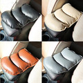 Car-styling PU Leather Car Armrests Cover Pad Mats For BYD all Model S6 S7 S8 F3 F6 F0 M6 G3 G5 G7 E6 L3