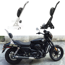 For Sportster XL883 XL1200 XL 883 1200 48 Motorcycle Luggage Rack Sissy Bar Rear Passenger Backrest