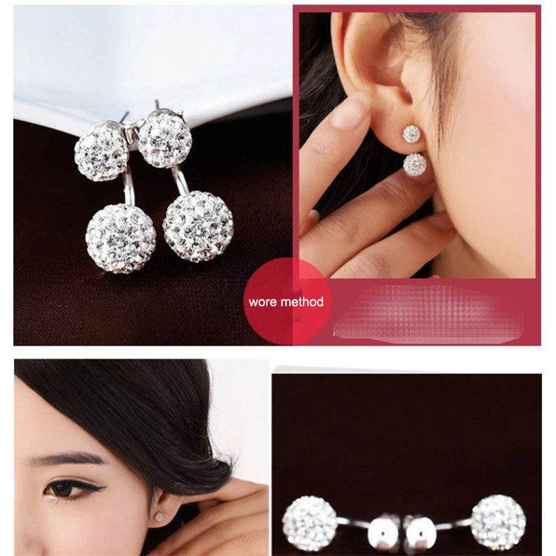 Europe and the United States large pleated contour earrings female catwalk fashion trend geometric exaggerated irregular earring in Stud Earrings from Jewelry Accessories