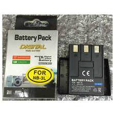 Wholesale prices NB-3L NB3L lithium batteries NB 3LDigital camera battery For Canon IXUS 750 700 i i5 Powershot SD550 SD500 SD10 SD20 SD100 PM055