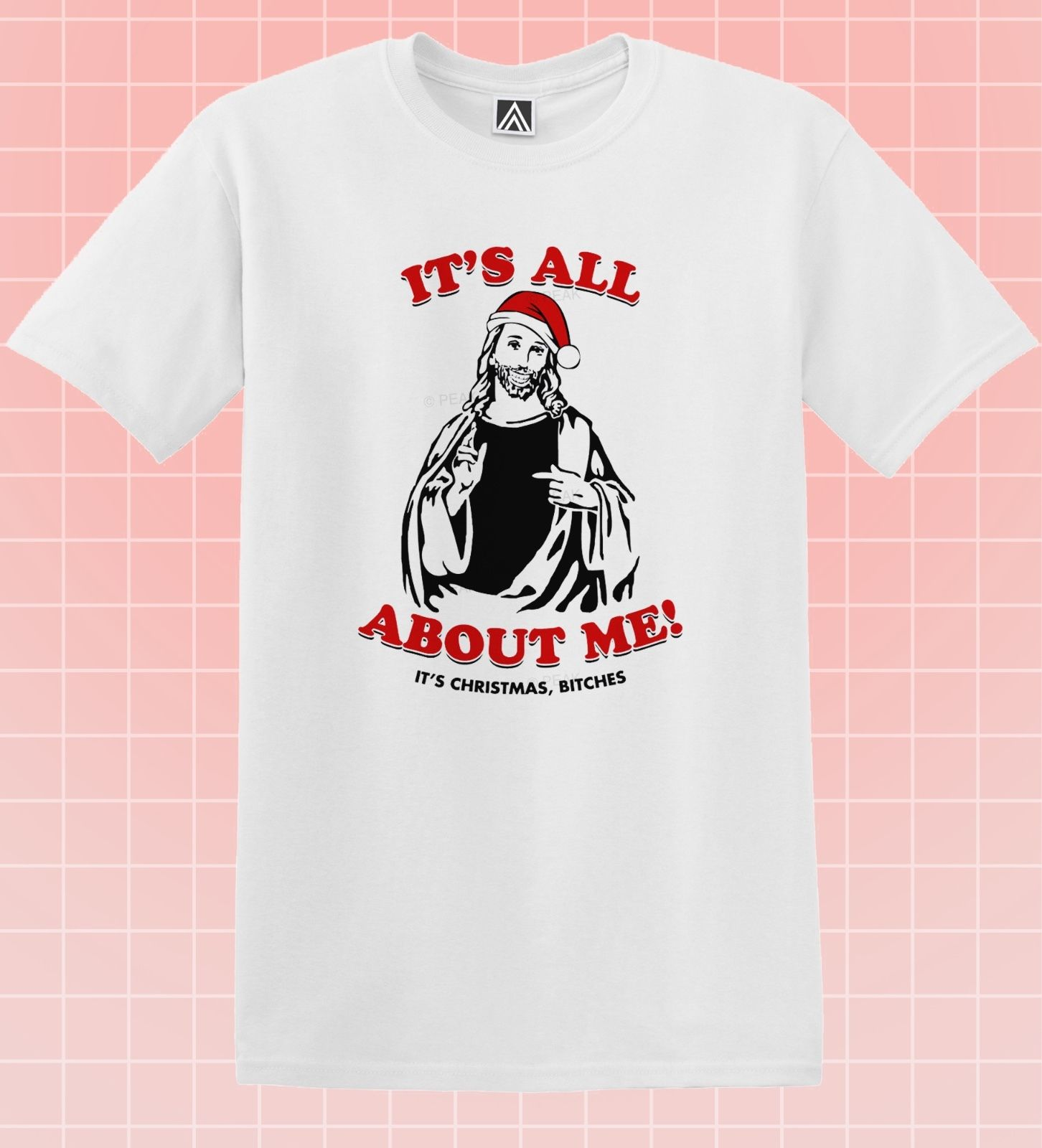 CHRISTMAS JESUS T-shirt Nativity Party Santa Bitch Tee Hipster Gift Novelty Top