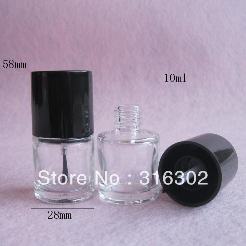 How To Empty A Nail Polish Bottle: 200pcs/lot 10ml Empty Nail Polish Bottle/Transparent Nail