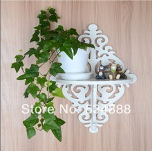Rack Stand No-paint eco-innovative special European-style garden carved flower wall shelf racks