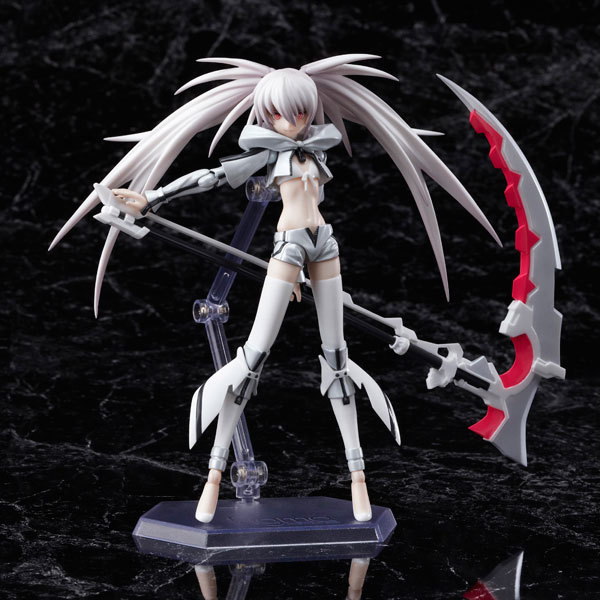 15cm New Anime Action Figure Black Rock Shooter The Game White Premium Box Figma SP-033 Model Collectible Sexy Cool Girl Toy 2