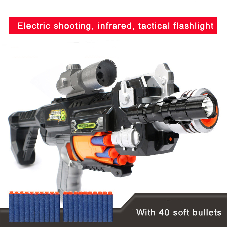 Air Soft Electric Reload Pistol Toy Gun Model Battle Ground Bullet Paintball Air Gun Toys for Children Airsoft Air Guns Rifle