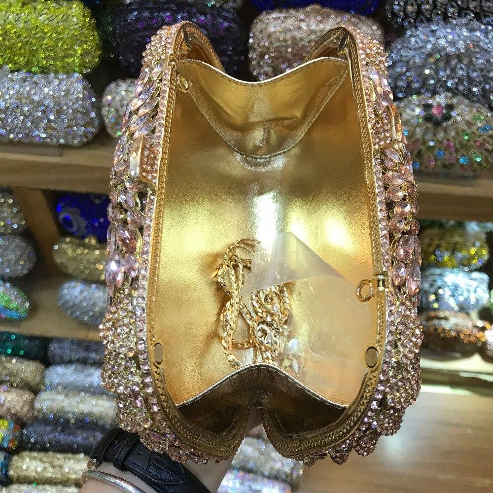 Main As Xiyuan Embrayage Pochette Dame Dames Pictur Mariage Or argent En Cristal Sac champagne color Sacs Soirée Color Diamant Mariée Same Partie À Pictur De PPwxqrS1O
