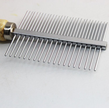 Stainless Steel Pet Grooming Hairbrush Pets Grooming Collections Pets Pets Accessories