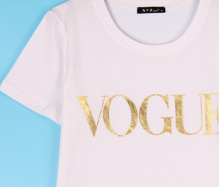 HTB1qvpLJVXXXXbYXXXXq6xXFXXX9 - VOGUE Printed T-shirt Women Tops Tee Shirt Femme New Arrivals