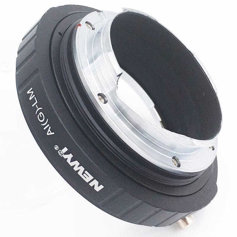 Image 3 - NEWYI адаптер для Nikon AI F G AF S Mout объектив для Leica M LM L/M камера Новый объектив преобразователь камеры переходное кольцо-in Адаптер объектива from Бытовая электроника