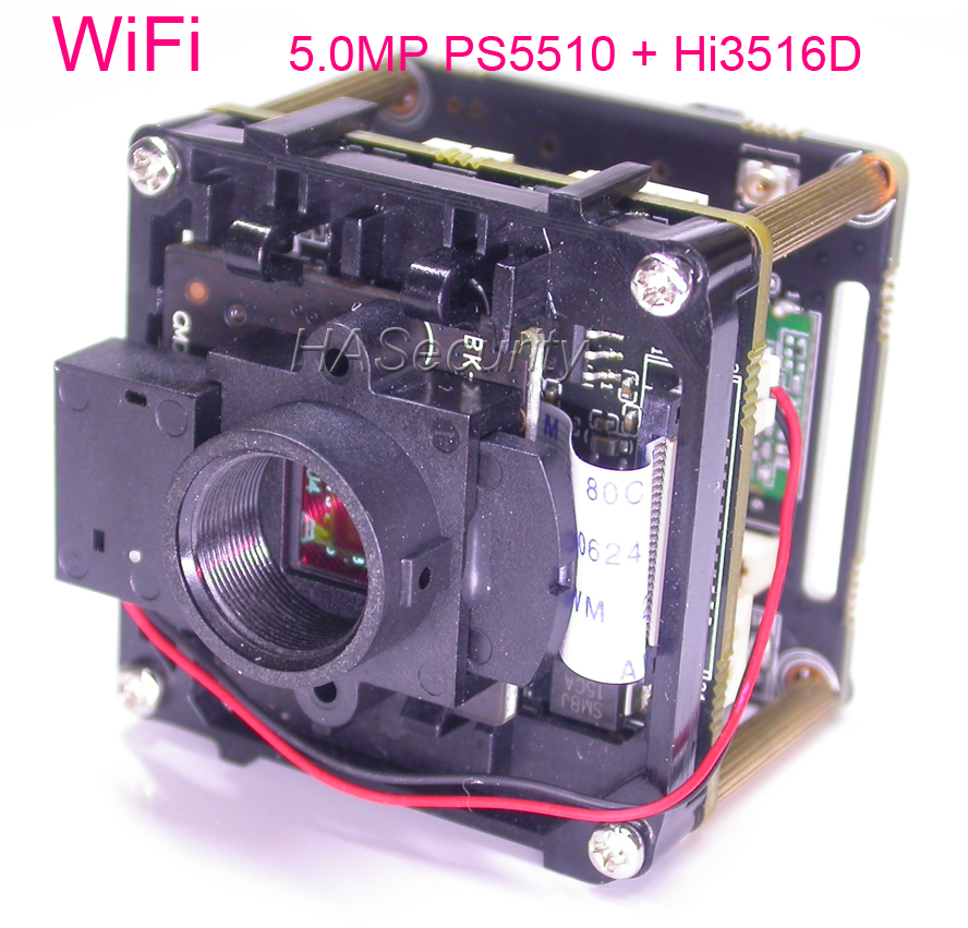 WiFi 5 0MP Intelligent Analysis H 265 H 264 1 1 2 5 PS5510 Hi3516D IP