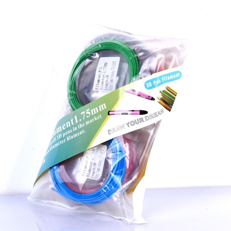 3d qələm aşağı temperaturlu filament PCL plastik 1.75mm 3D - Ofis elektronikası - Fotoqrafiya 5
