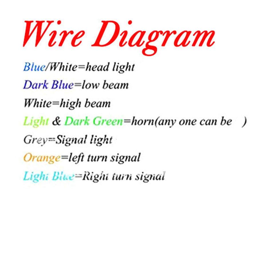 WRG-9867] Harley Handlebar Switch Wiring Diagram on