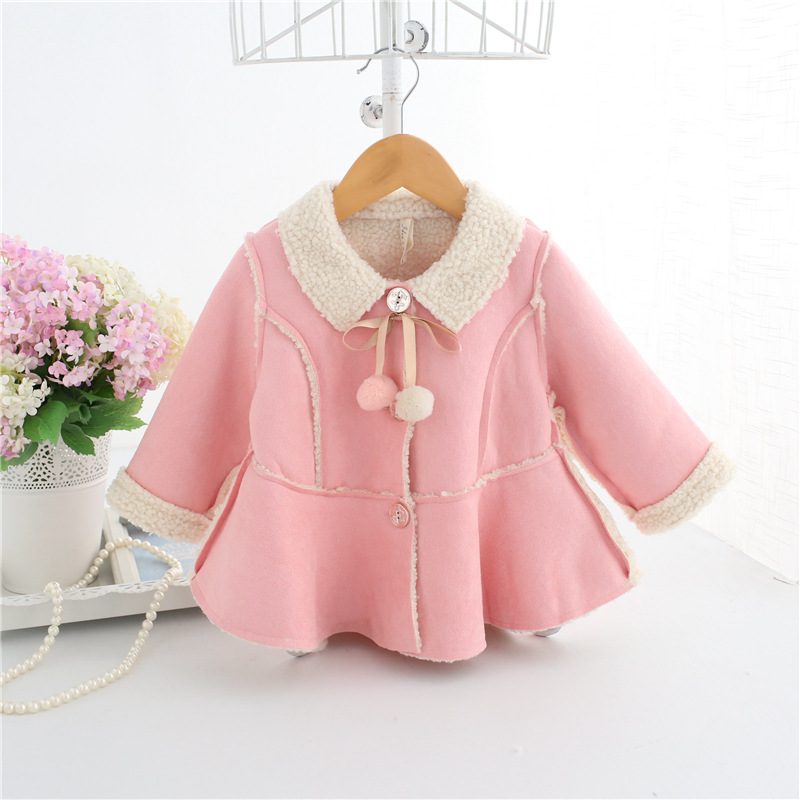 autumn 2018 baby winter jacket sold warm velvet baby girl jacket lovely suede nap newborn coat infantil clothes girls jacketsautumn 2018 baby winter jacket sold warm velvet baby girl jacket lovely suede nap newborn coat infantil clothes girls jackets