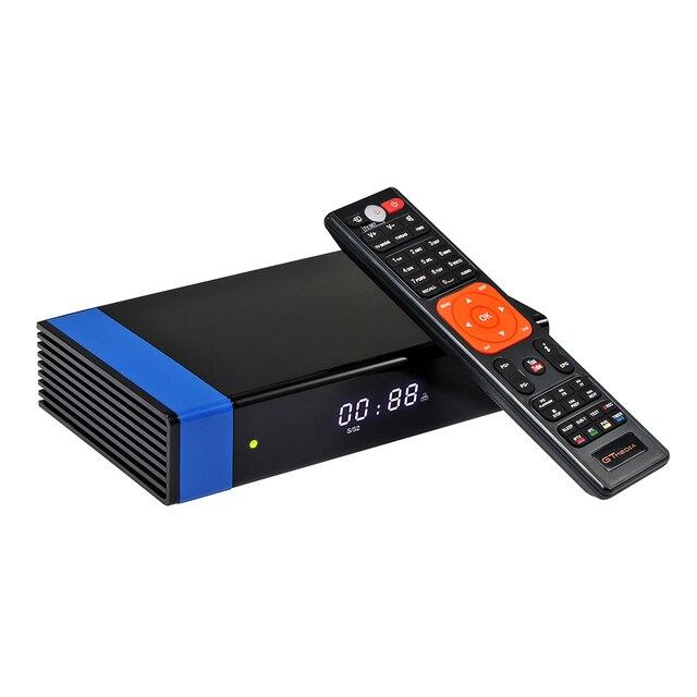 GTMedia V8 נובה DVB S2 לווין מקלט עבור ספרד פורטוגל אירופה 4K מפענח רק אין ערוצים כלול