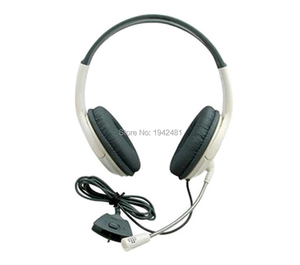 Image 2 - OCGAME Kopfhörer Kopfhörer Weiß Große Gaming Chat Headset Mit MIKROFON Mikrofon Für xbox360 Xbox 360 Live