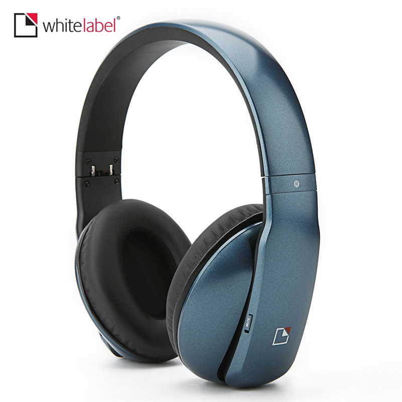 Whitelabel MusicStudio Wireless Headphones Bluetooth Earphone Over Ear Stereo Headset Gamer With Mic Hands-free Calling mpow wireless bluetooth v4 1stereo headphones in ear crystal sound light neckband headphones earphone hands free calling