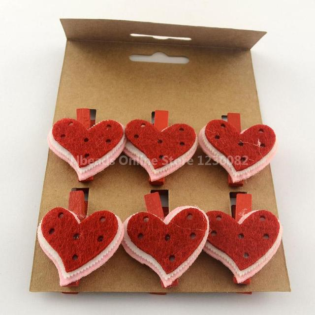 Aliexpress Com Buy Valentines Ornaments Diy Wood Craft Ideas Photo