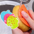 Multi-function Vegetable & Fruit Brush Potato Easy Cleaning Tools Kitchen Gadgets 2015 hot sale