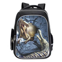 Jurassic monster Bag animal World Park Backpack Dinosaur Triceratops Tyrannosaurus pattern knapsack Schoolbag Toys Gift